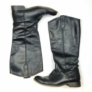 FRYE Melissa Button Pull-On Riding Boots  S16